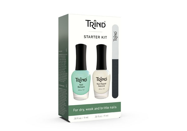 "TRIND Набор для ухода за ногтями ""Starter Kit""( Nail Magic +Nail Repair + Nail Balsam)"